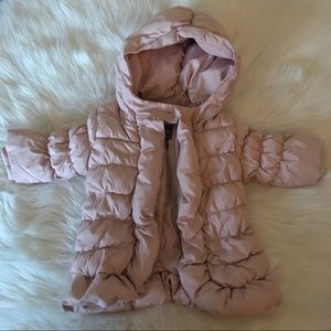 GAP baby girl 0-6 MONTHS puffer jacket